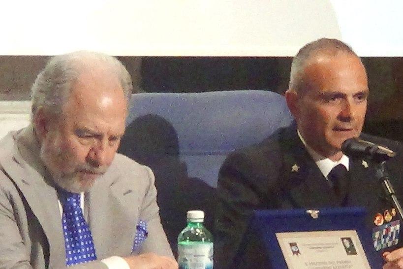 Premio L. Azzarita al Capitano di Fregata Francesco Marino