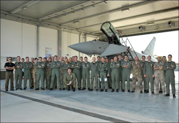 4° Stormo: 25.000 ore per gli Eurofighter