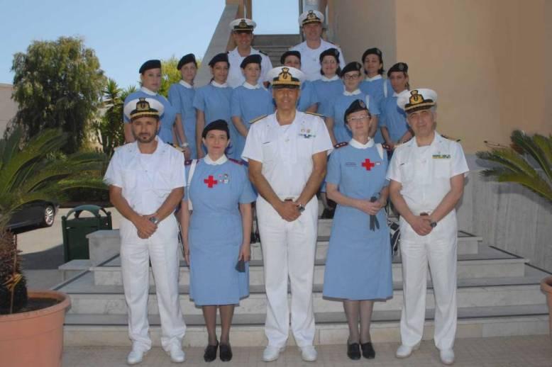 Agusta – La Marina Militare con la Croce Rossa Italiana
