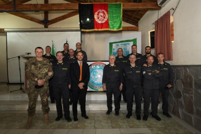 Herat: 'Missione compiuta' per la Guardia di Finanza in Afghanistan