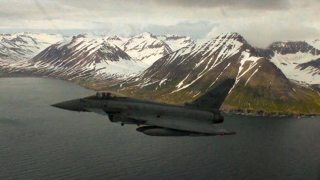 """In Islanda per l'Operazione """"Cieli Ghiacciati"""""""