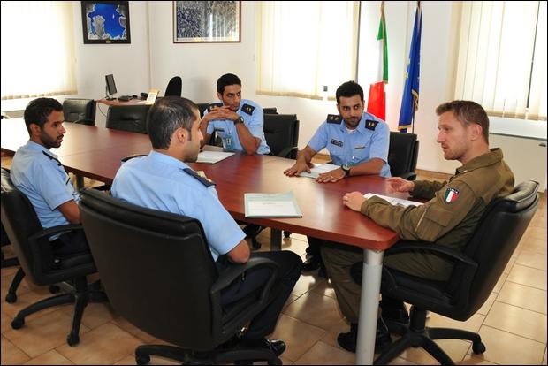 La Kuwait Air Force in addestramento a Lecce