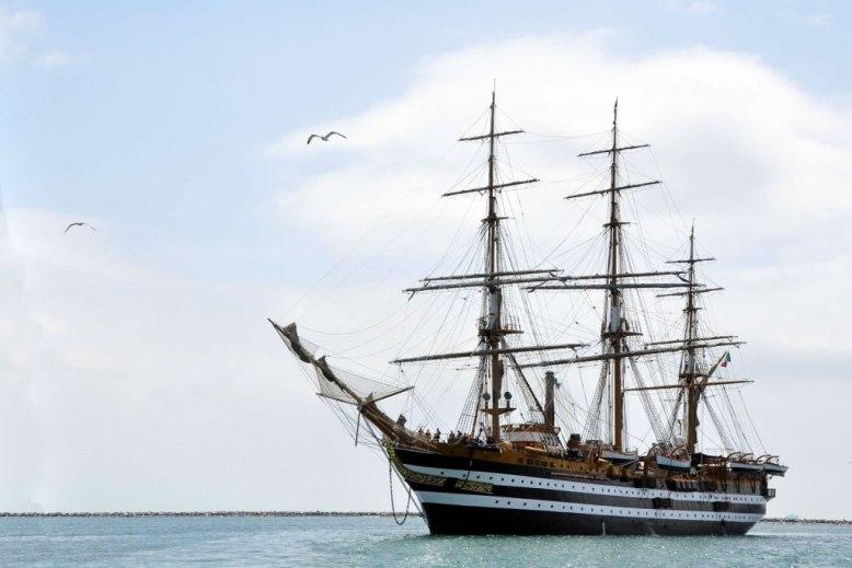 La Signora dei mari salpa per la pre-campagna 2013