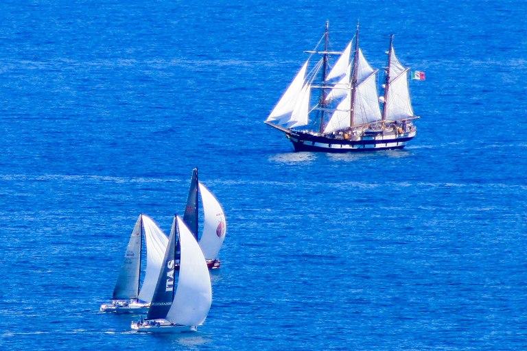 Nave Palinuro 'ai Mondiali' di vela classe ORC