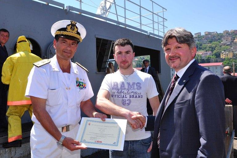 Sicurezza in mare, il know how della Marina Militare al servizio della Marina Mercantile