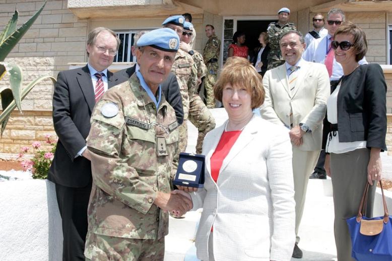 UNIFIL incontra Mrs Ashton