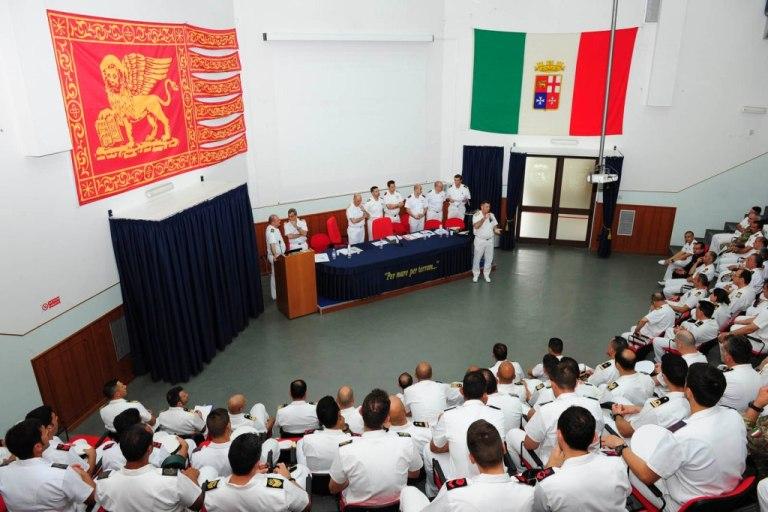 Visita del Consiglio Centrale della Rappresentanza Militare (Sezione Marina) presso la sede di Brindisi