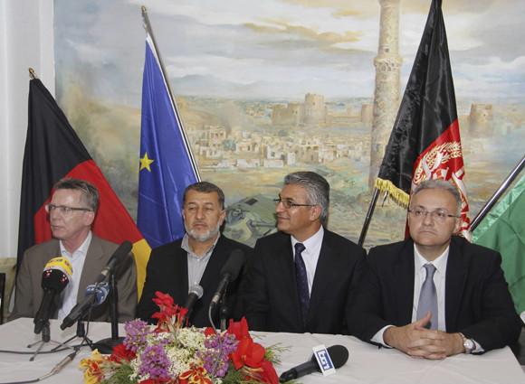 Herat: meeting tra i Ministri della Difesa di Italia, Germania e Afghanistan sul post 2014