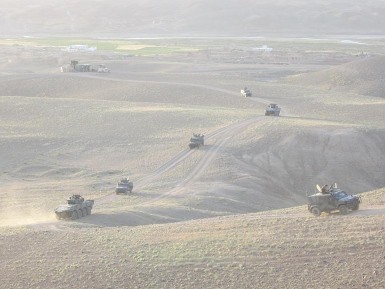 Afghanistan: terzo mese di attività svolte dalla Transition Support Unit Center di Shindand