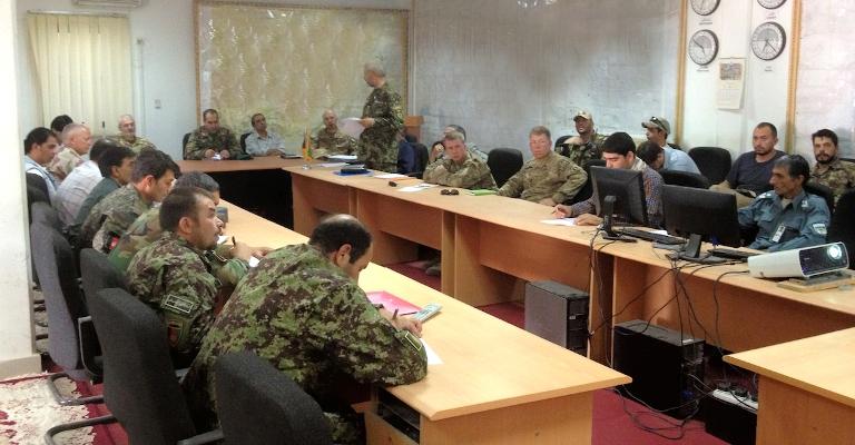 Afghanistan: giro di boa per il personale dell'Operations Coordination Center Advisor Team