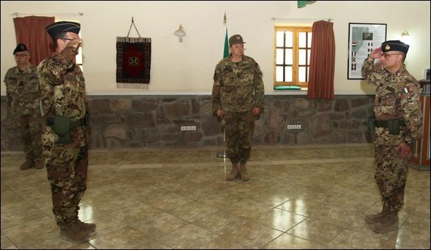 Herat: Passaggio di consegne alla guida del CAI