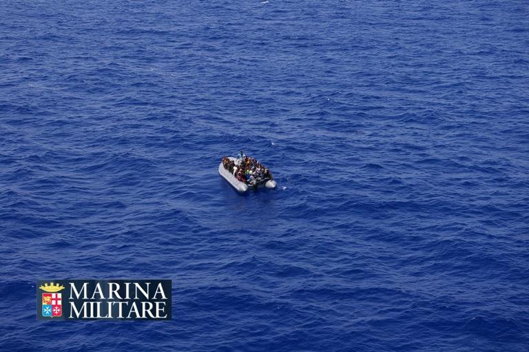 Marina Militare: Nave Sirio interviene in soccorso ad una imbarcazione con 34 migranti a bordo