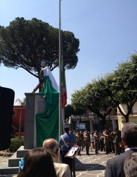 Inaugurazione Monumento ai Caduti a Roccarainola