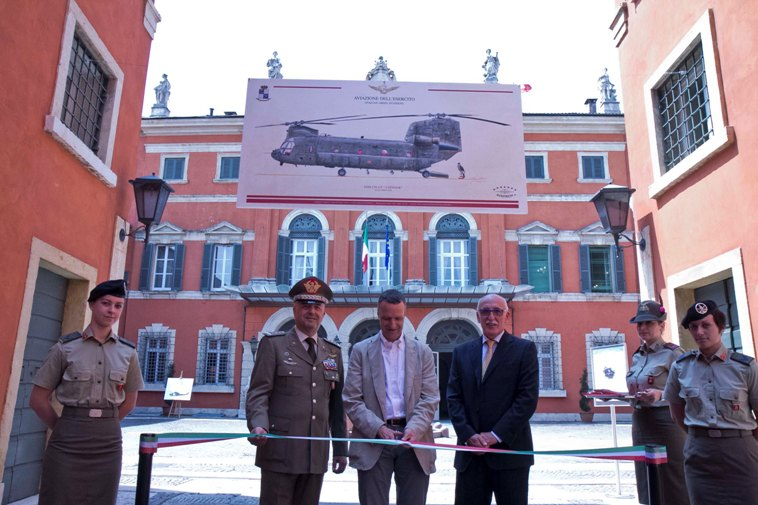 """Inaugurata a Palazzo Carli la mostra grafica """"In Volo con Giorgio Ciancia"""""""