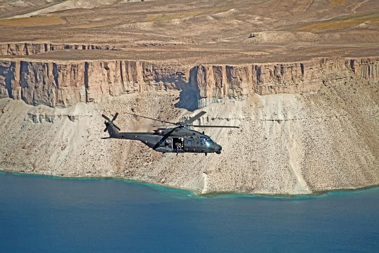 Afghanistan: un anno d'impiego in teatro operativo per gli elicotteri NH-90 Italiani