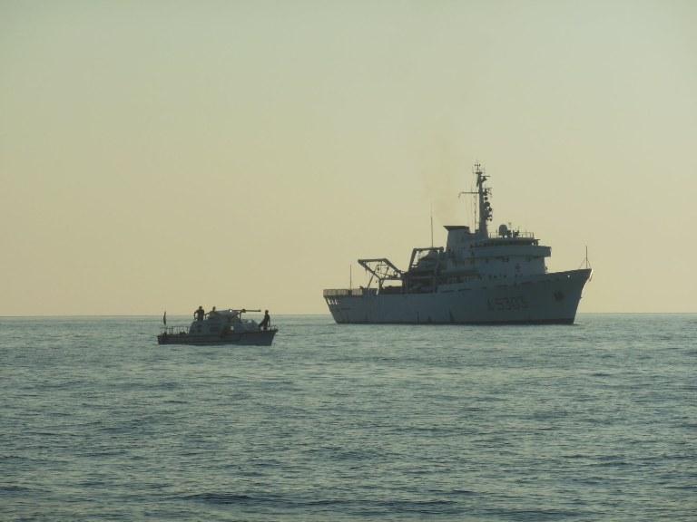 Campagna Idrografica 2013, il Dipartimento di Scienze Biologiche ed Ambientali su nave Magnaghi