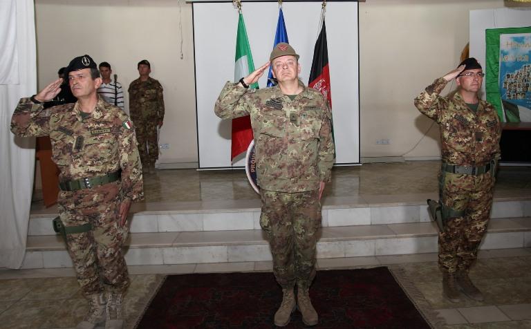 Herat: cambio alla guida del Provincial Reconstruction Team – CIMIC Detachment