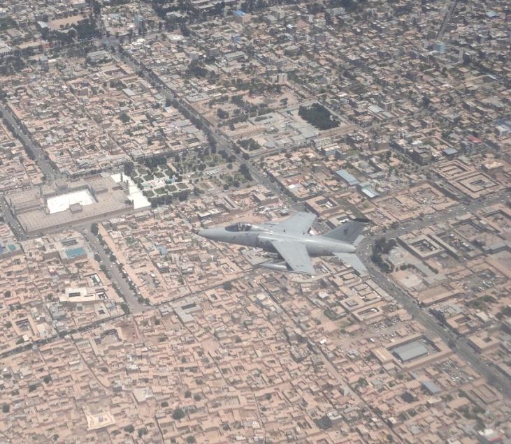 3. AMX in volo su Herat