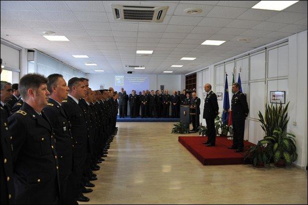 Cambio Comando del RACSA -