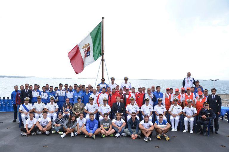 Campionato Italiano Interforze Double Trap su Nave Durand de La Penne