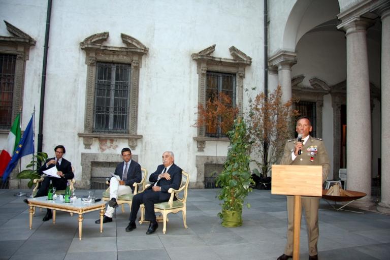 Conferenza a Palazzo Cusani