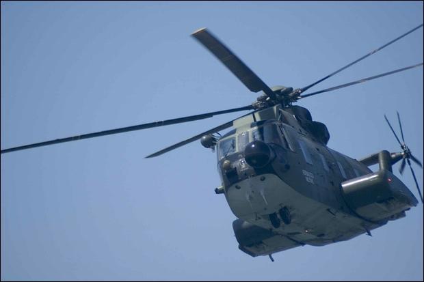 Elicottero soccorre tre escursionisti