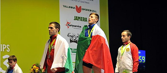 Europei di pesistica: oro e record italiano per Mirco Scarantino