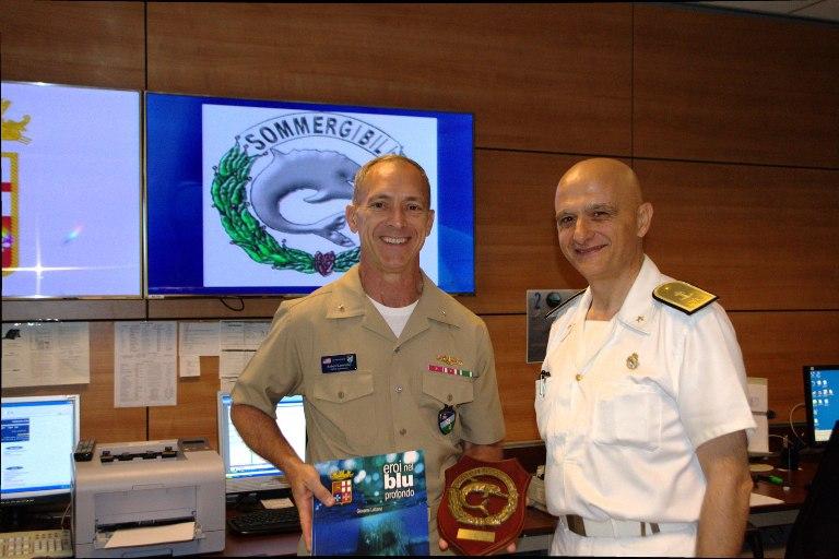 Il Comandante dei Sommergibili della NATO in visita al Comando Sommergibili Marina --