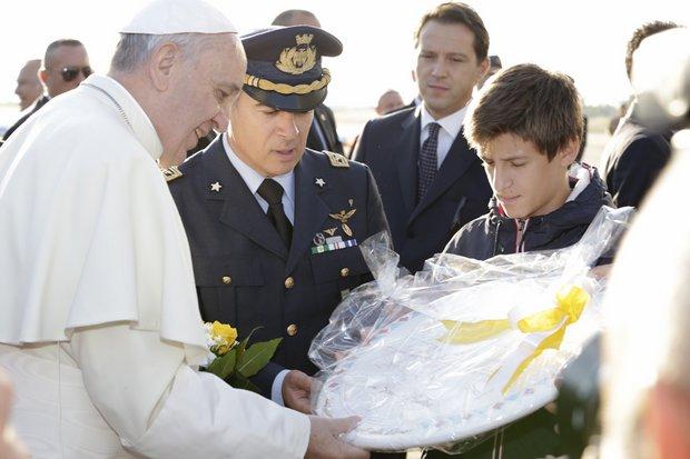 Il Santo Padre Papa Francesco a Cagliari | Stella d'Italia ...