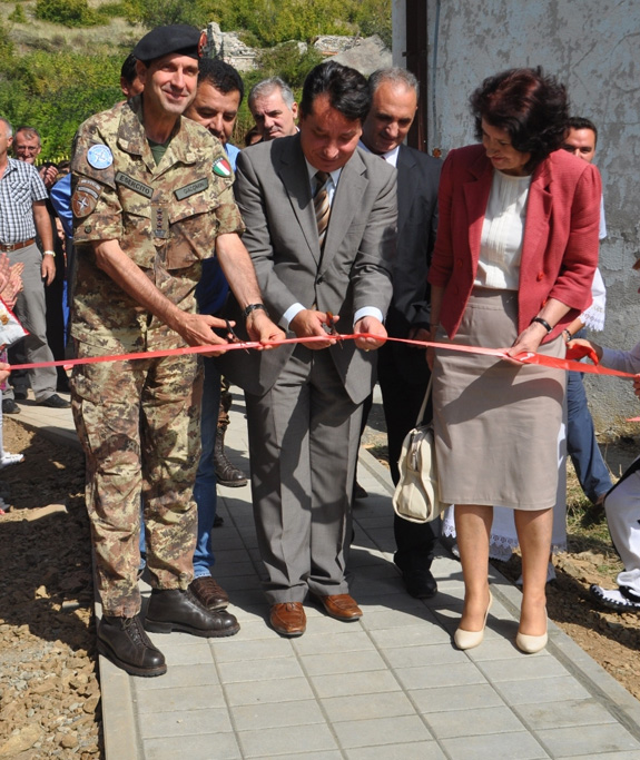 Inaugurata Scuola in Kosovo -