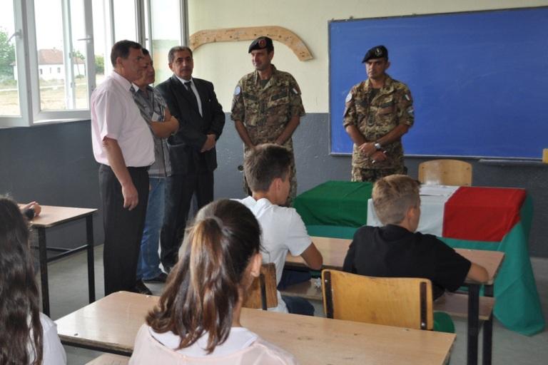 Inaugurata Scuola in Kosovo