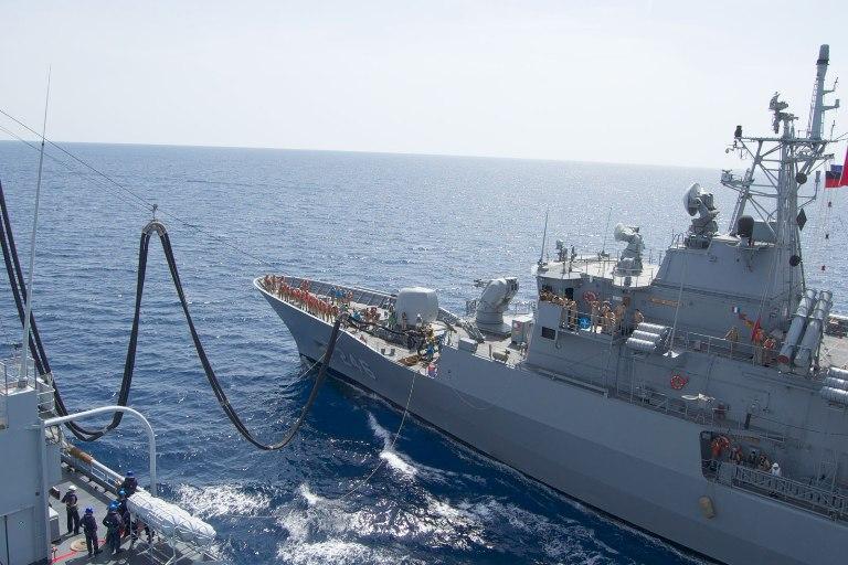 La Marina incontra in mare lo Standing NATO Maritime Group 2