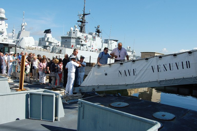 La Spezia: Unione Italiana Ciechi e nave Vesuvio insieme oltre ogni ostacolo