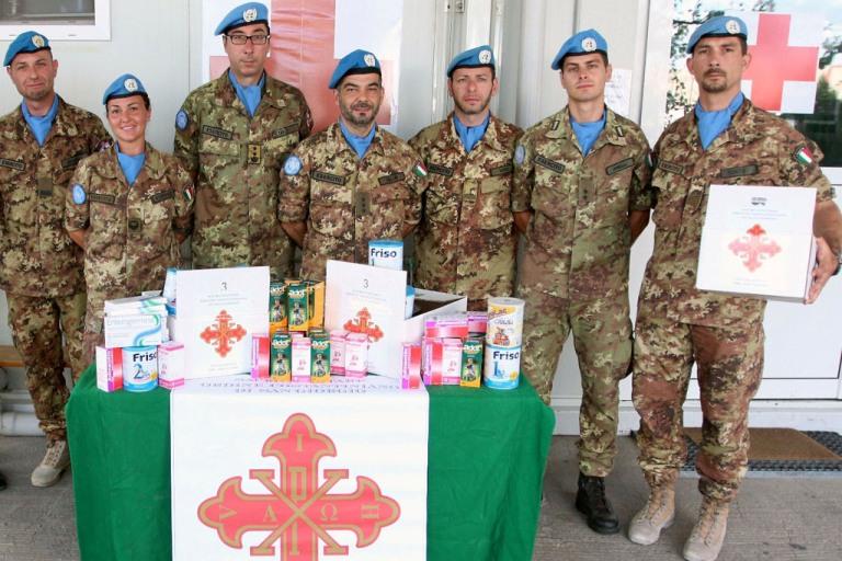 Medicinali donati in Libano