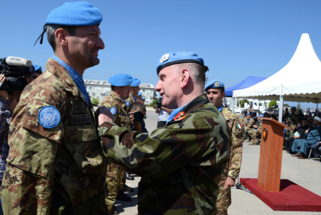 Onorificenze ONU ai Caschi Blu Italiani