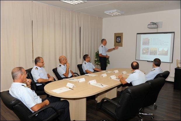 Visita al Centro di Selezione A.M. di Guidonia del Gen. Cormio -