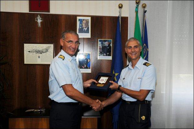 Visita al Centro di Selezione A.M. di Guidonia del Gen. Cormio  --