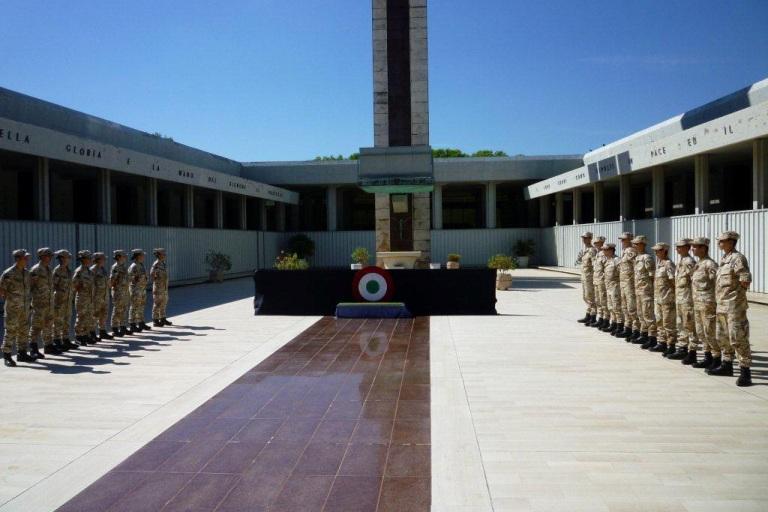 Visita al Sacrario Militare di Bari