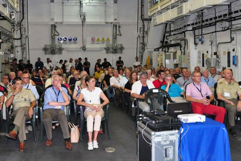 La Spezia – Visita dei partecipanti al 39esimo congresso annuale della CIHM