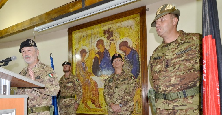 Afghanistan: cambio al vertice dell'Operations Coordination Centre Advisor Team di Herat.