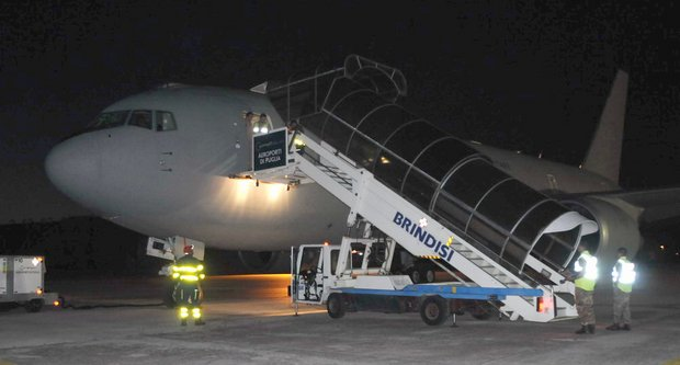 B-767 AM riporta in Patria contingente dall'Afghanistan