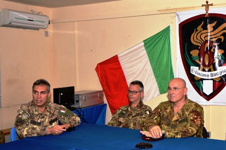 Colonnelo Mauro Sindoni_generale Michele Pellegrino_generale di corpo d'armata Marco Bertolin