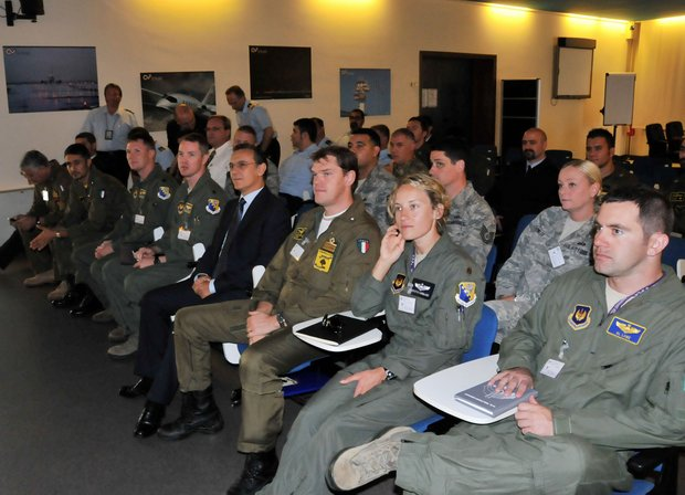 Delegazione AM-USA in visita all'SCC di Abano Terme -