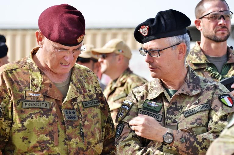 Generale Marco Bertolini e generale Michele Pellegrino_1