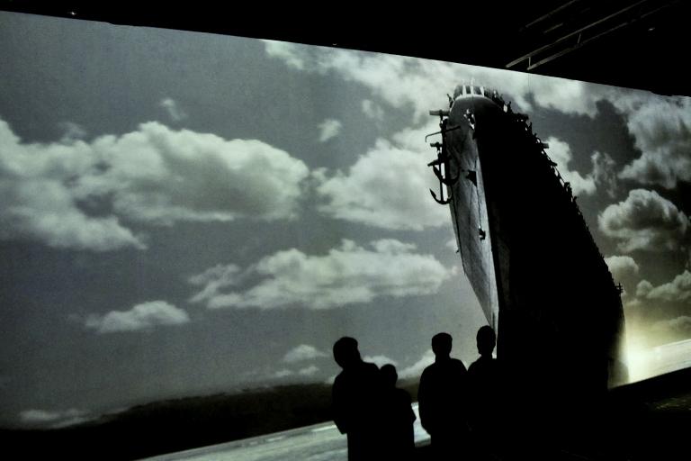 Inaugurata la mostra sulla corazzata Roma a La Spezia --