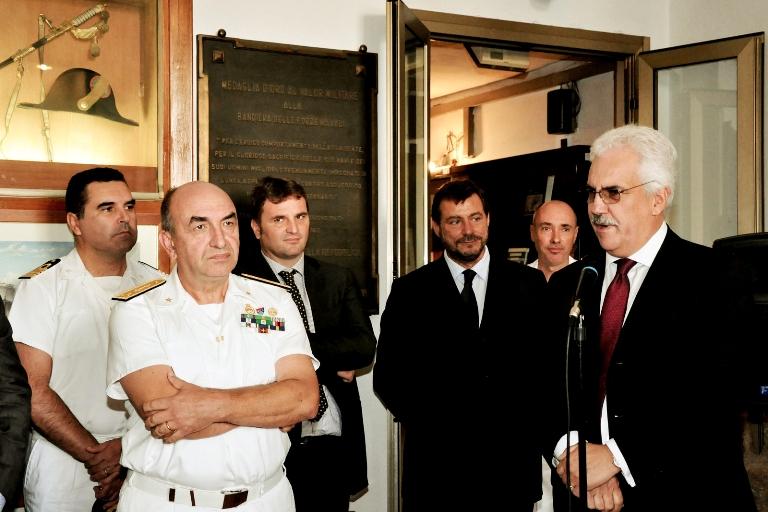 Inaugurata a La Spezia la mostra sulla corazzata Roma