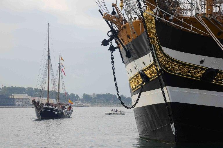 La Signora dei Mari alla Mediterranean Tall Ship Regatta 2013