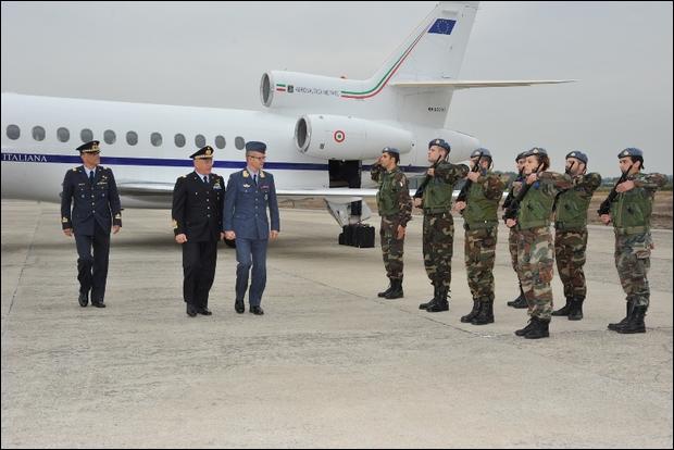 Visita del Comandante delle Forze Aeree Norvegesi in Italia--