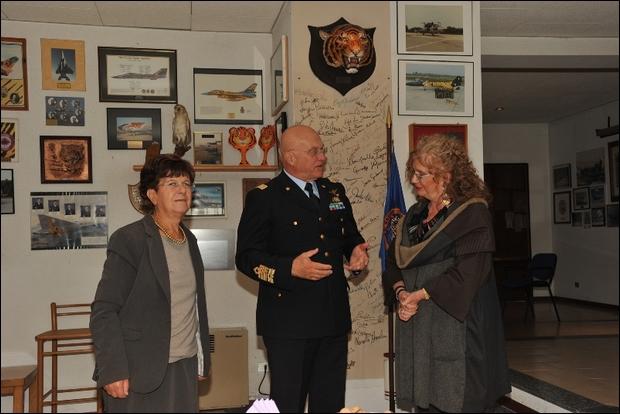 Visita del Comandante delle Forze Aeree Norvegesi in Italia-----