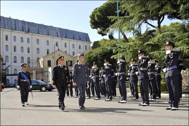 Visita del Comandante delle Forze Aeree Norvegesi in Italia